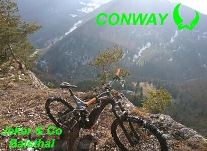 Conway E-Bike Mountainbike Fahrrad Velo Modelle 2018 Balsthal Schweiz
